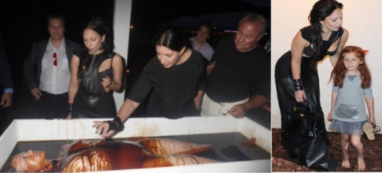 marina Abramovic & john podesta & lady gaga